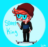DAT STREET KING by Ask-Symphony-Kingdom