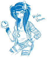 Vriska Venom by Pretty-Punisher