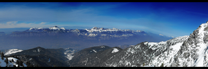Panorama - Grenoble Valley by Zardom002