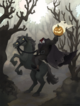 The Headless Horseman by WonderDookie