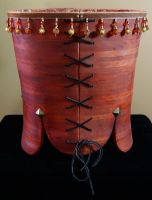 Wearable Wood Corset 1 by fritzcaterwall