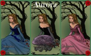 Ribbet collage Aurora by autumnrose83