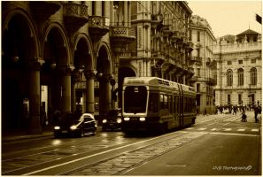 Tram I by OviXPhotography