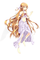 Fairy Dance Asuna by valiryn