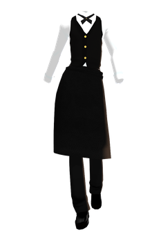 MMD DL Series Bulter outfit DL by 2234083174