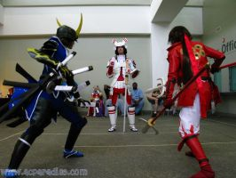 Otakon EPIC : MANRY FIGHTING by burloire