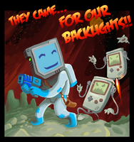 They came for our backlights by gsilverfish