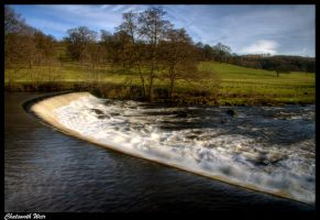 Chatsworth Weir by Megglles