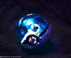 Absol Pokeball by Jonathanjo