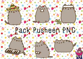 Pusheen's by SuaraLoveEditions
