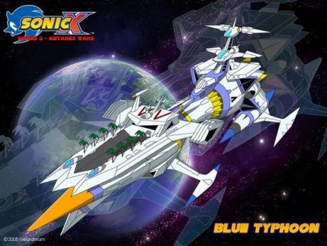 Sonic X Series 2: Blue Typhoon by DarkNoise-Studios