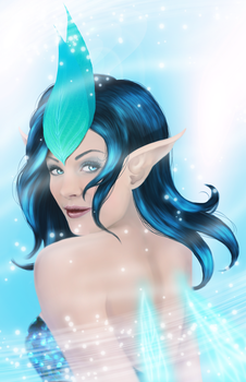 Ocean Fairy - IceQueen by Calumbrae