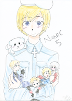 Finland and the 4 mini Nordics by ReimeiStarline