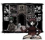 Comission: Library by otherwise