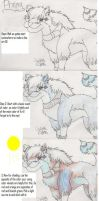 Coloring a wolf My way by goldenEden