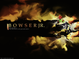 Bowser Jr. Wallpaper by madkool