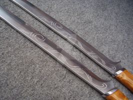 Update for Legolas swords by Dekokatana
