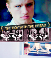 THG:Peeta:The Boy With The Bread by justadistrict12girl