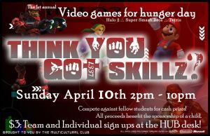 Video Games for Hunger Day by Siren2k4
