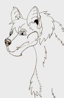 Peirced Wolf by 1Rootbeer