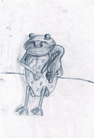 Violin Froggy by Leaf-Assassin