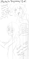 .:CroMa:.Maka's Pregnancy: End! part1 by SakiCakes