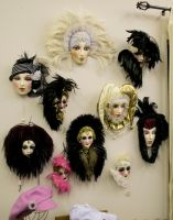 Mask Collection by krissybdesignsstock