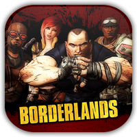 Borderlands Game Icon by Wolfangraul