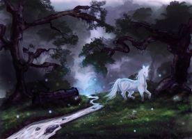 Enchanted Forest by Nellasis