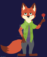 Pawpsicle by Vulpes-lagopus21