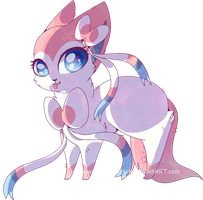 =Sylveon - Ninfia by Frosty-Kitteh