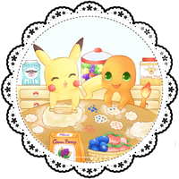 Poke-cookies :3 by FedeMidnight
