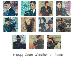 1944 Dean Icons by alice-castiel