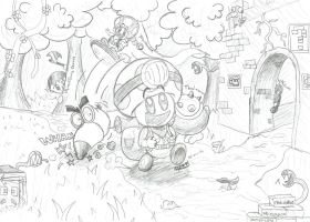 Captain Toad's Big Adventure! by MarkProductions