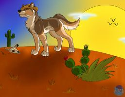 Amarillo by Morning by Silverfang98