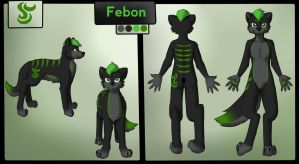 Commission - Febon Reference by PonderingChibi