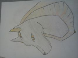 Anubis - made at art lesson :3 by CenturiesForGlory