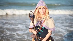 Spellthief Lux at the sea by Maddylol91