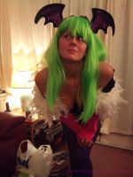 Morrigan Aensland Cosplay 1 by Peppermint-Tea