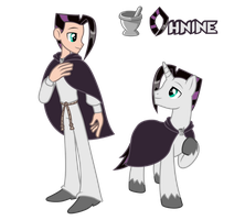 Commission: Ohnine - Pony/ Human by Trinityinyang