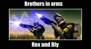 Brothers in Arms by Jedi-Cowgirl