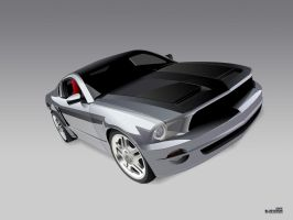 Ford Mustang GT by blue-venom