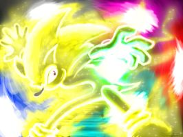 Super Sonic Colors by Fin-Snake