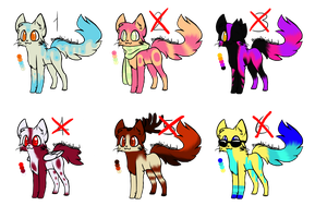 Cat Adopts Batch - CLOSED - 40 points each by ThisAccountIsDead462