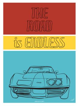 The Road Is Endless by s-rae