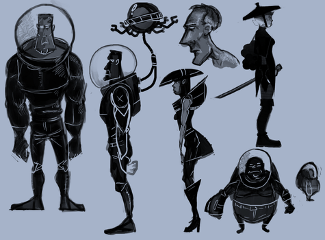 Some Designs by MechaBuggy