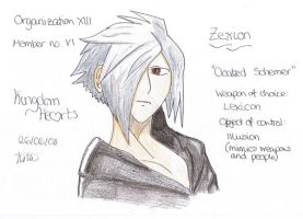 Zexion by JenniMGF