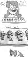 Gravity Falls comic - Cookies by EverlastingDerp