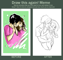 Draw This Again Meme 3 by Wazzup1721