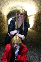 Humpf_Edward and Winry by DrawenZzZz